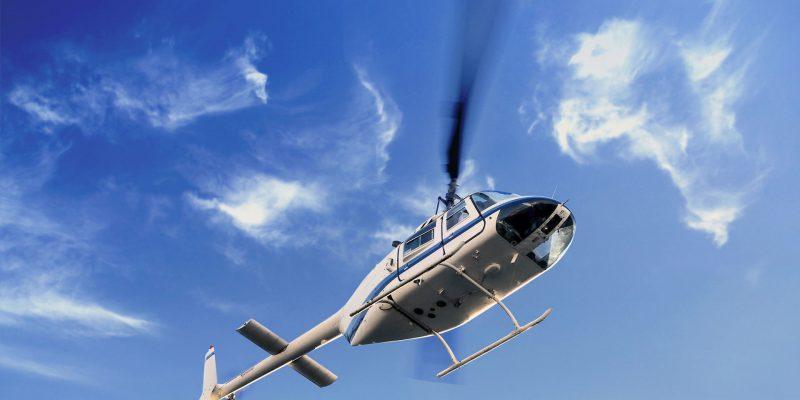 טיסה במסוק מעל מצפה רמון